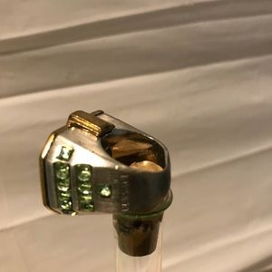 Versace Jewelry - Vintage Versace gold& silver tone ring